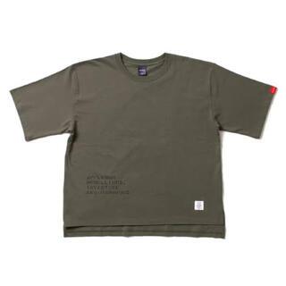 """アップルバム(APPLEBUM)のAPPLEBUM """"Stencil"""" Big T-shirt (Olive)(Tシャツ/カットソー(半袖/袖なし))"""