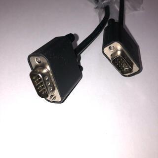 デル(DELL)のVGAケーブル 1.5m d-sub15pin 新品(PC周辺機器)
