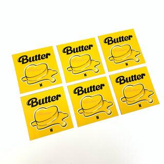 ボウダンショウネンダン(防弾少年団(BTS))のBTS 'Butter' コンセプトシール×6枚(アイドルグッズ)