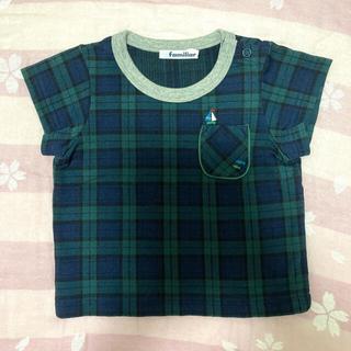 familiar - 【美品★着用2回】ファミリア 半袖Tシャツ 80cm