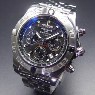 ブライトリング(BREITLING)の美品 ブライトリング クロノマット 44 スレートグレー文字盤 箱、説明書、余り(腕時計(アナログ))