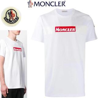MONCLER - 7万新品本物◆モンクレールジャパン◆XL◆MONCLER 白ボックスロゴTシャツ