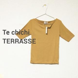 テチチ(Techichi)のプリーツテレコTee(Tシャツ(半袖/袖なし))