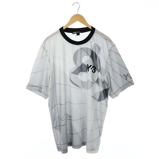 Y-3 - Y-3 アディダス adidas ヨウジヤマモト Tシャツ ロゴ 半袖 グレー