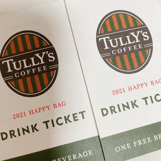 TULLY'S COFFEE - Tully'sドリンクチケット[2枚]