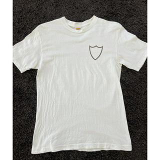 スタンダードカリフォルニア(STANDARD CALIFORNIA)のスタンダードカリフォルニア ロゴTシャツ 別注 希少 Mサイズ 白(Tシャツ/カットソー(半袖/袖なし))