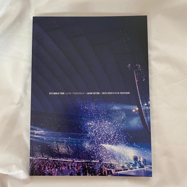 防弾少年団(BTS)(ボウダンショウネンダン)のBTS WORLD TOUR 'LOVE YOURSELF' ~JAPAN ED エンタメ/ホビーのDVD/ブルーレイ(ミュージック)の商品写真
