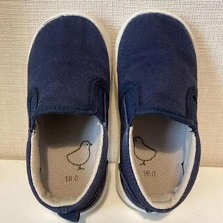 ムジルシリョウヒン(MUJI (無印良品))の無印良品/スニーカー/上履き/16cm(スクールシューズ/上履き)