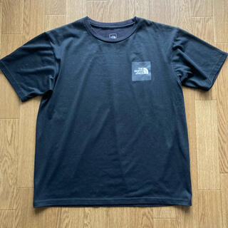 THE NORTH FACE - THE NORTH FACE SQUARE LOGO TEE スクエアロゴ L