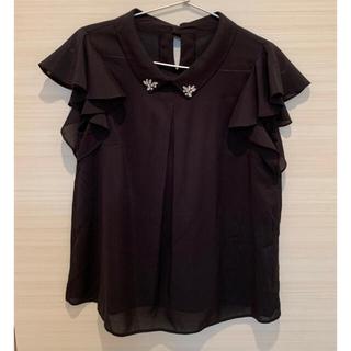 エヌナチュラルビューティーベーシック(N.Natural beauty basic)のナチュラルビューティーベーシック ビジューシャツ付きシャツ(シャツ/ブラウス(半袖/袖なし))