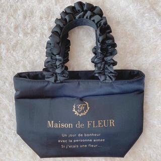 Maison de FLEUR - Maison de FLEUR フリル トートバッグ ブラック