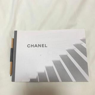 シャネル(CHANEL)のCHANEL ノート 鉛筆付き(ノート/メモ帳/ふせん)