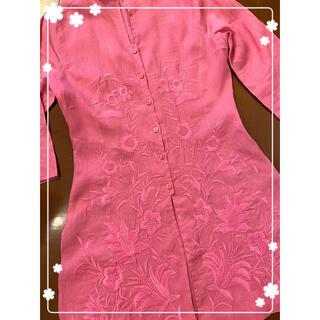 NARACAMICIE - 🌟美品🌟NARACAMICIE ナラカミーチェ 美しい花柄刺繍ブラウス