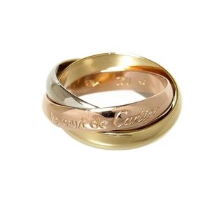 カルティエ(Cartier)のカルティエ Cartier トリニティリング クラシック リング・指輪【中古】(リング(指輪))