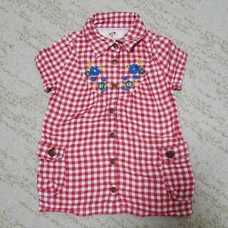 エーアーベー(eaB)のエーアーベーワンピース90(Tシャツ/カットソー)