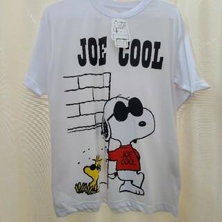 ピーナッツ(PEANUTS)の新品 ジョークール Joe cool スヌーピー Tシャツ メンズ 白(Tシャツ/カットソー(半袖/袖なし))