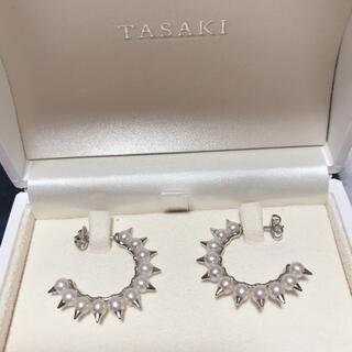TASAKI - TASAKI デインジャー ピアス ホワイトゴールド