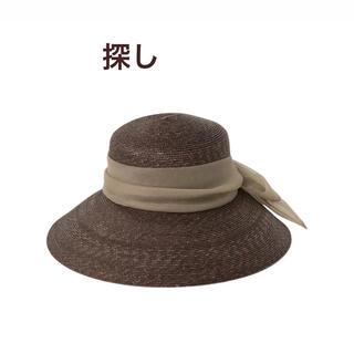 エイミーイストワール(eimy istoire)のeimy エイミー Organdy Ribbon Capellin hat(麦わら帽子/ストローハット)