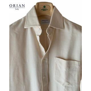 オリアン(ORIAN)のTOMORROWLAND別注/ORIAN/コットンウール/イタリア製/長袖シャツ(シャツ)