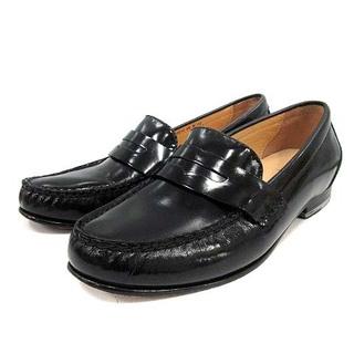 コールハーン(Cole Haan)のコールハーン シューズ ローファー パテントレザー 6 23.5cm 黒(ローファー/革靴)