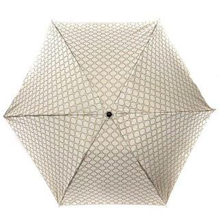 celine - セリーヌ CELINE 傘 日傘 折りたたみ マカダム柄 茶 ブラウン