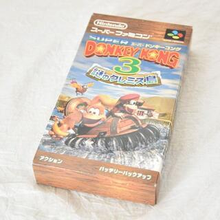 スーパーファミコン(スーパーファミコン)のスーパーファミコン/スーパードンキーコング3 謎のクレミス島/50(家庭用ゲームソフト)