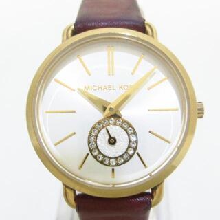 マイケルコース(Michael Kors)のマイケルコース 腕時計 - MK-2751 シルバー(腕時計)