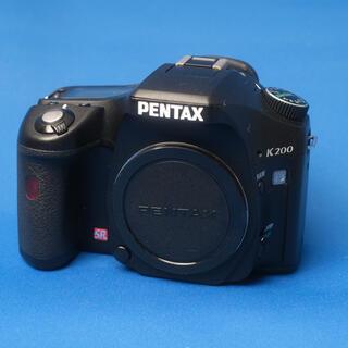 ペンタックス(PENTAX)のペンタックス K200D 一眼レフカメラ PENTAX CCD(デジタル一眼)