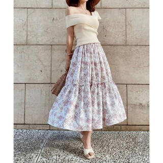 eimy istoire - 新品♡ eimyistoire amandaflowerギャザースカート