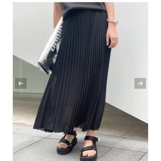 アパルトモンドゥーズィエムクラス(L'Appartement DEUXIEME CLASSE)の美品AP STUDIO プリーツスカート(ロングスカート)