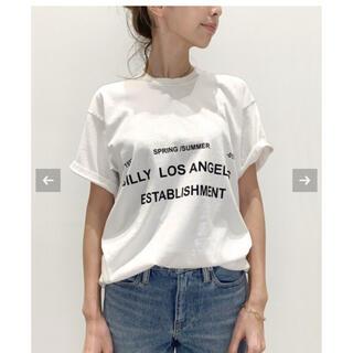 アパルトモンドゥーズィエムクラス(L'Appartement DEUXIEME CLASSE)の値下げL'Appartment BILLY Tシャツ(Tシャツ(半袖/袖なし))