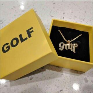 ゴルフワン ネックレス ゴールド golf wang