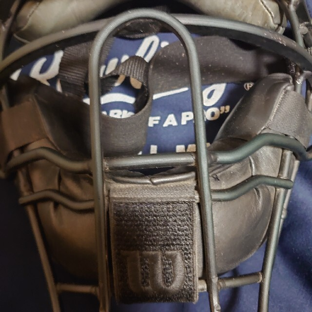wilson(ウィルソン)のWilson 硬式or軟式オーダー超軽量マスク スポーツ/アウトドアの野球(防具)の商品写真