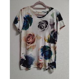 ポールスミス(Paul Smith)の☆ポールスミス☆ローズプリントカットソー  M(Tシャツ(半袖/袖なし))