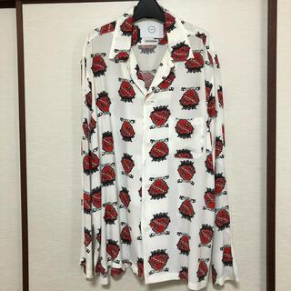 FAN別注 now×shokurashina Heart&Crown Shirt