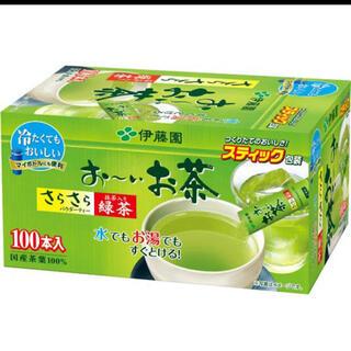 イトウエン(伊藤園)の伊藤園 おーいお茶 粉末緑茶 100本入り(茶)