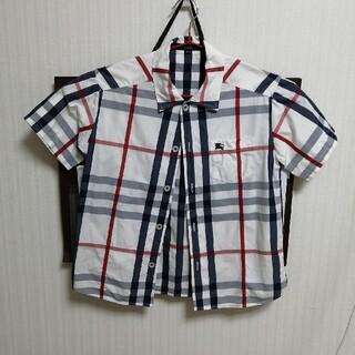 バーバリー(BURBERRY)のBURBERRY LONDON チェックシャツ120(Tシャツ/カットソー)