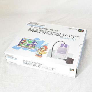 スーパーファミコン(スーパーファミコン)のスーパーファミコン/マリオペイント/53(家庭用ゲームソフト)