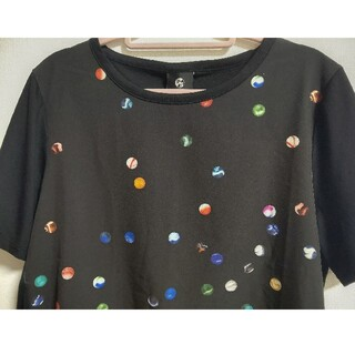 ポールスミス(Paul Smith)の☆ポールスミス☆ドットプリント切り替えカットソー M(Tシャツ(半袖/袖なし))