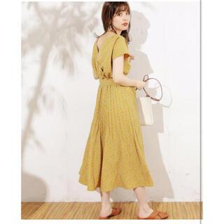 ナチュラルクチュール(natural couture)のnatural couture 2wayカシュクールワンピース(ロングワンピース/マキシワンピース)