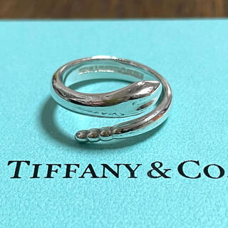 Tiffany & Co. - ティファニー スネーク リング 蛇 11号 12号 ヴィンテージ