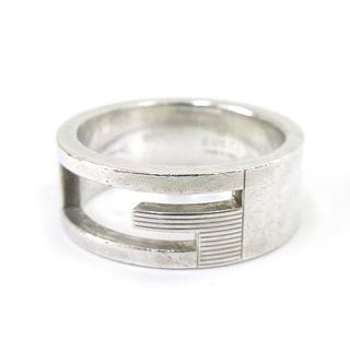 グッチ(Gucci)のグッチ GUCCI カットアウト Gリング 指輪 AG925 17号(リング(指輪))