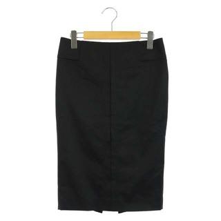 グッチ(Gucci)のグッチ スカート ペンシル タイト 膝丈 ベルト付 スリット 38 黒 /AA(ひざ丈スカート)