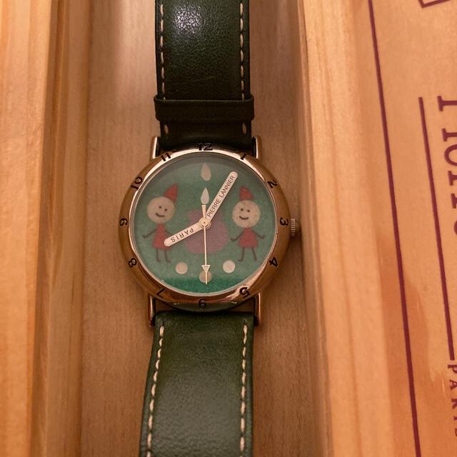 Pierre Lannier(ピエールラニエ)の【稼働品】ピエールラニエ さくらももこ レディースのファッション小物(腕時計)の商品写真