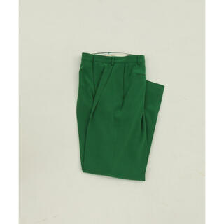 TODAYFUL - TODAYFUL 38 Georgette Rogh Trousers グリーン
