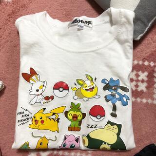 しまむら - ポケモン Tシャツ 130 美品
