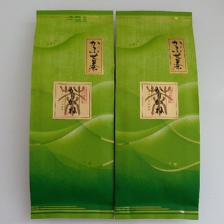 【奈良 大和茶】新茶! かりがね100g×2袋 茎茶/くき茶/白折