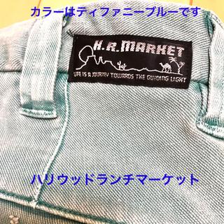 HOLLYWOOD RANCH MARKET - ハリウッドランチマーケット ステレッチデニム ショートパンツ
