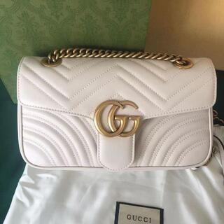 Gucci - グッチ GG レザーチェーンショルダーポシェット