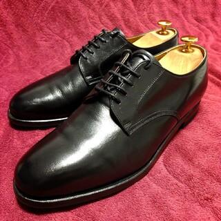 リーガル(REGAL)の【美品】 リーガル プレーントゥ 26cmEEE 革靴 ブラック 黒 e10(ドレス/ビジネス)